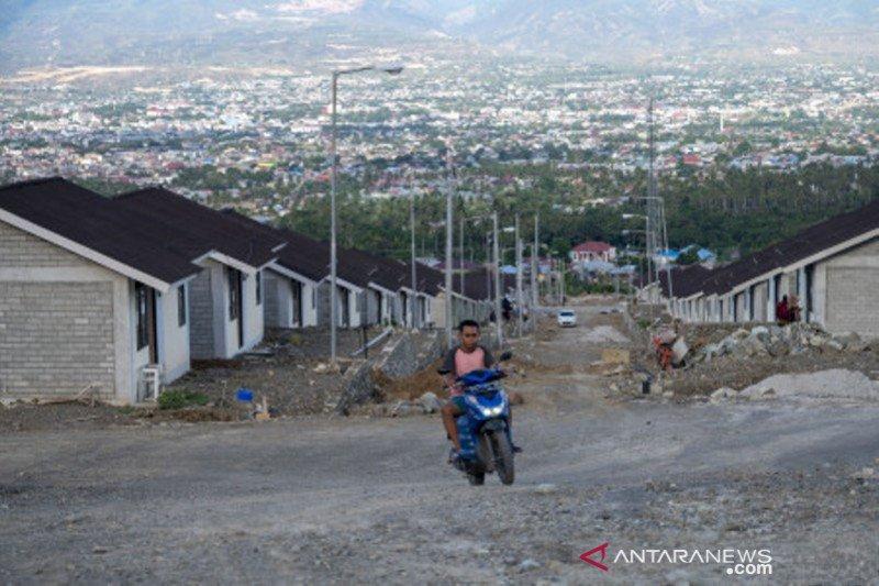 Huntap yang dibangun kementerian  PUPR  siap huni di Palu