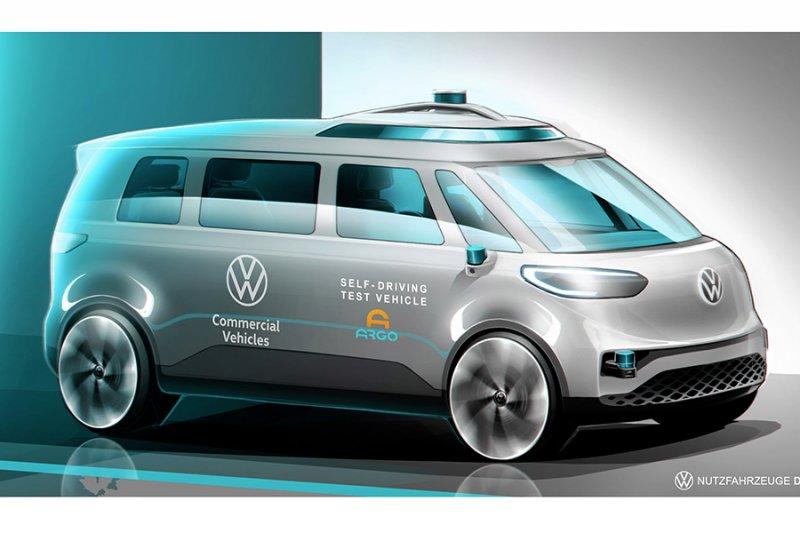 VW akan hadirkan mobil komersial listrik tanpa sopir