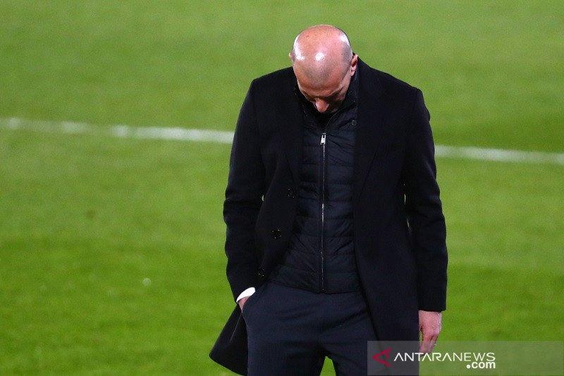 Zidane merasa Real Madrid pantas mendapat lebih dari satu poin