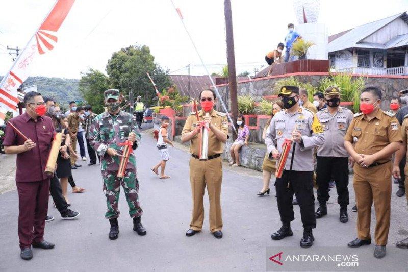 Bupati Minahasa apresiasi Talikuran Utara jadi Kelurahan Tangguh COVID-19