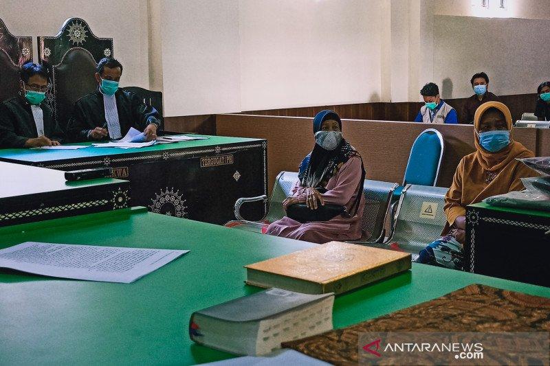 Pemandi jenazah korban pembunuhan ungkapkan kesaksiannya ke hadapan hakim