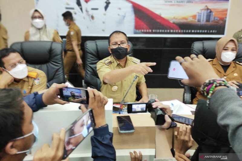 Anggaran pelebaran jalan Metro Tanjung dialihkan ke penanganan COVID-19