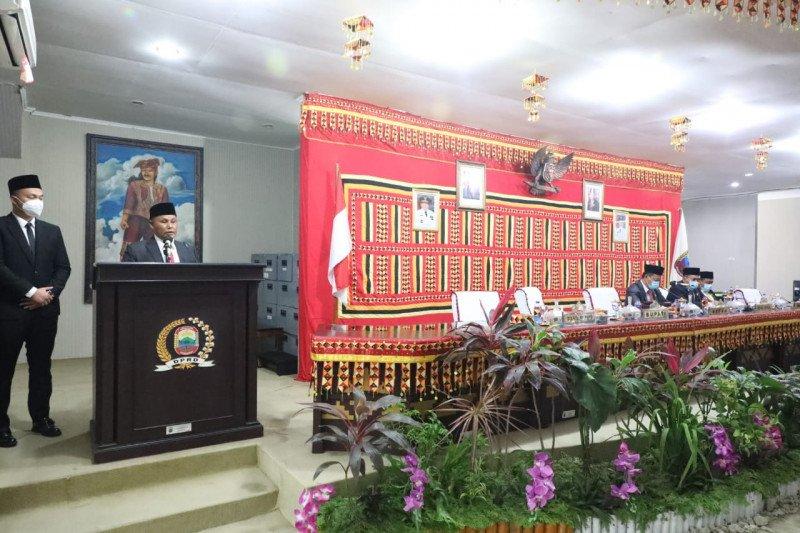 Nanang-Pandu sampaikan visi dan misi pembangunan Kabupaten Lampung Selatan lima tahun ke depan