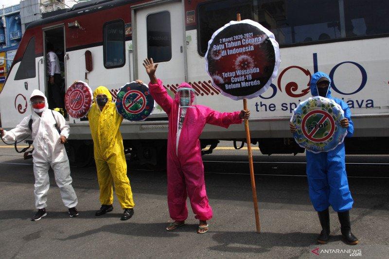 Setahun pandemi, ayo beri dukungan kepada nakes