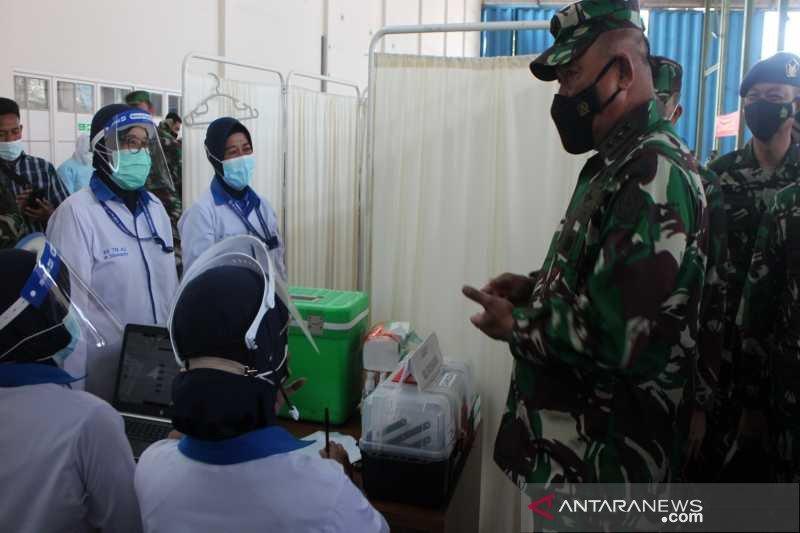 1.695 prajurit TNI di Solo Raya disuntik vaksin COVID-19