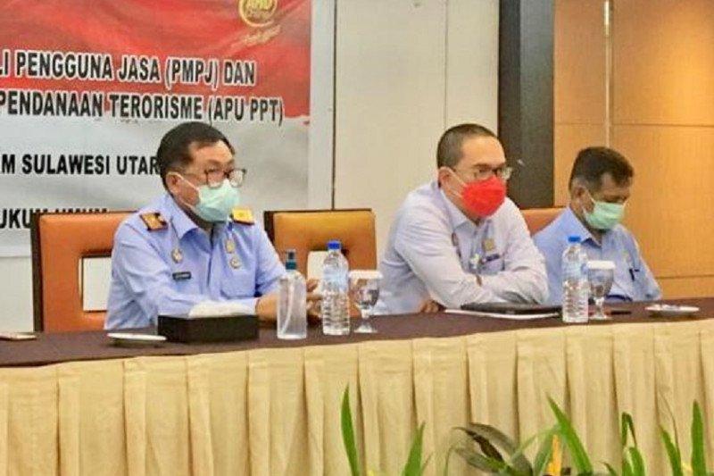 Kemenkumham Sulut gandeng PPATK sosialisasi PPMJ kepada notaris