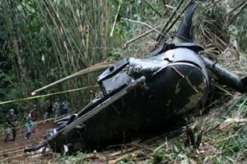 Sebuah Helikopter jatuh ke danau di China, dua tewas, dua hilang
