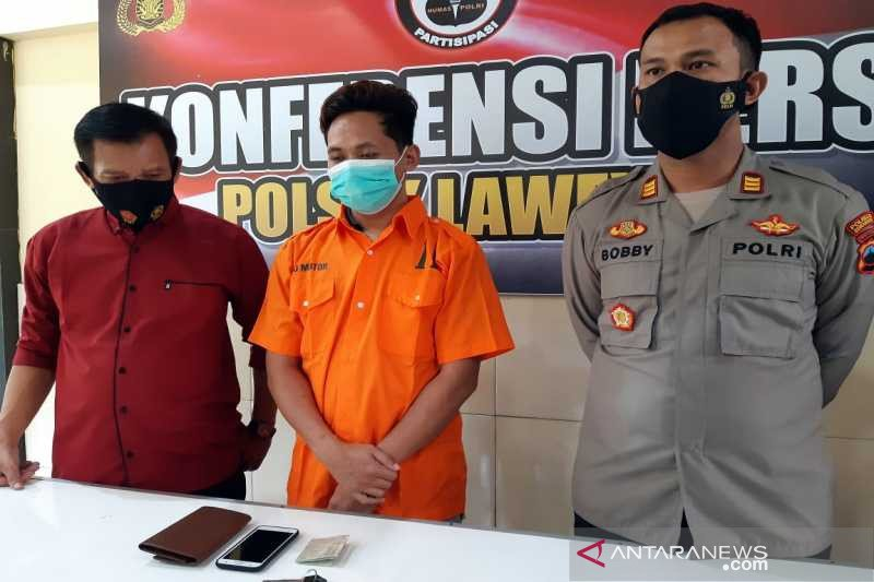Polresta Surakarta periksa seorang residivis kasus penggelapan