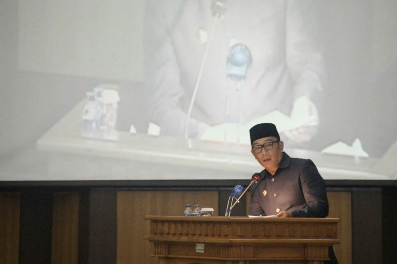 Gubernur Jabar sebut varian baru corona B.1.1.7 sudah masuk di Karawang