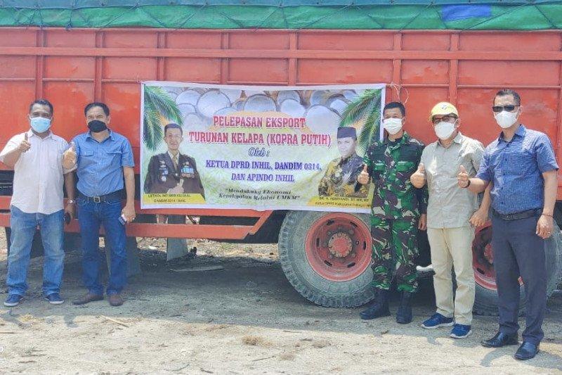 Ketua DPRD Inhil dukung UMKM ekspor kopra putih ke Myanmar