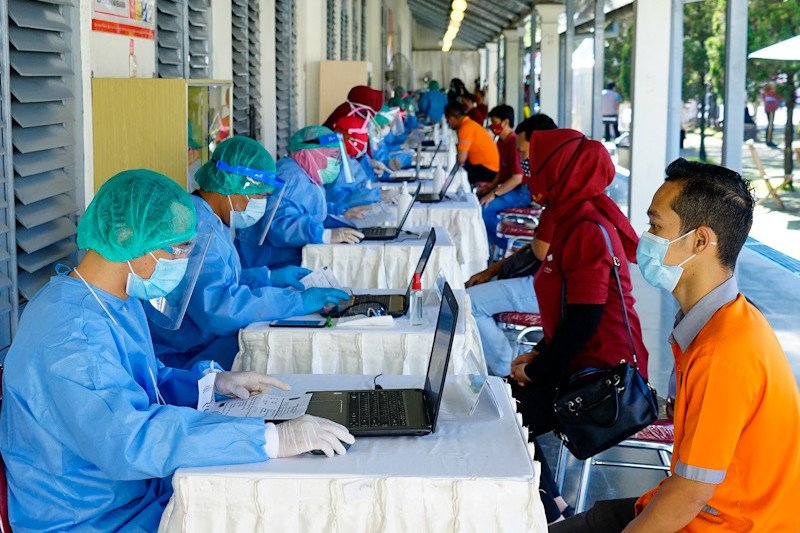 Satgas: Capaian vaksinasi massal di Yogyakarta sekitar 70 persen