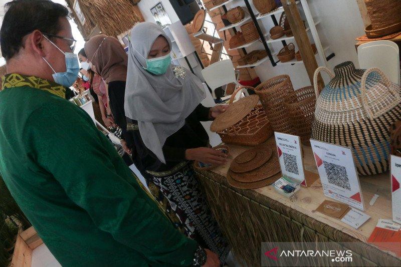 Kerajinan rotan produksi UMKM Janapria laris di pasar internasional