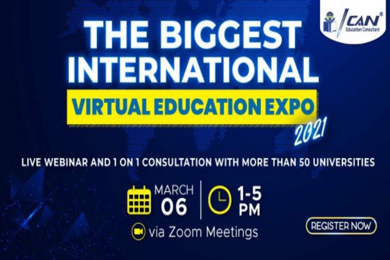 Hadiri Pameran Pendidikan ICAN: The Biggest International Virtual Education Expo 2021