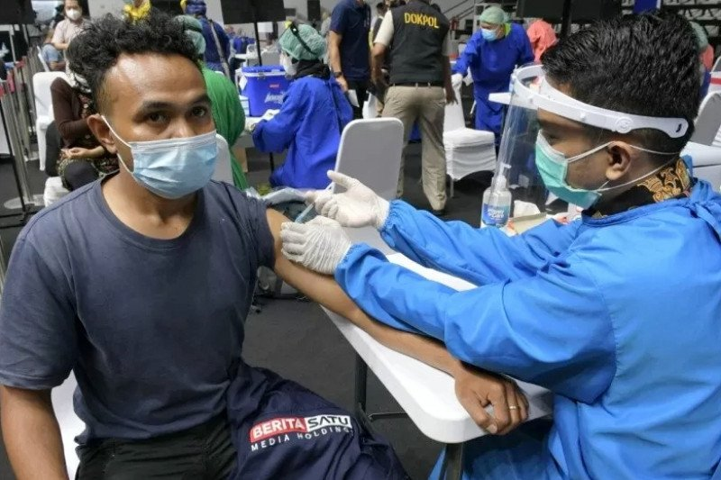 15.000 pedagang pasar tradisional di Makassar akan disuntik vaksin COVID-19