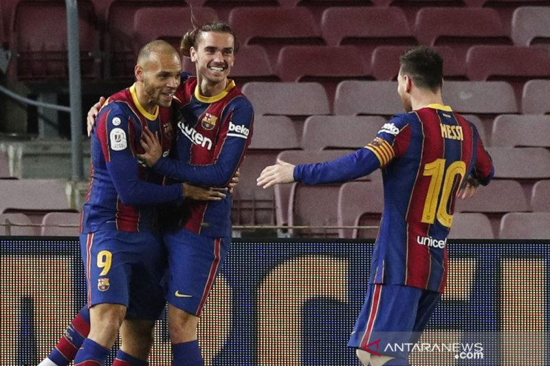 Menang lawan Sevilla, Barcelona melaju ke final Copa del Rey