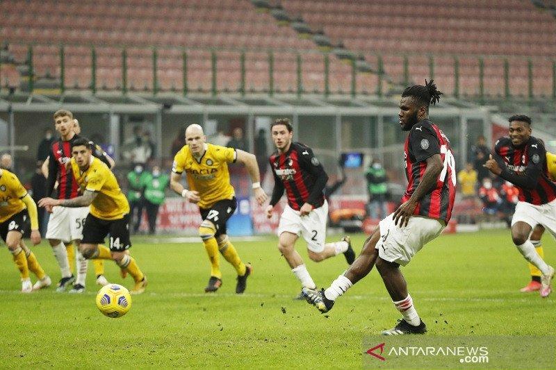 Penalti Franck Kessie hindarkan AC Milan dari kekalahan kontra Udinese