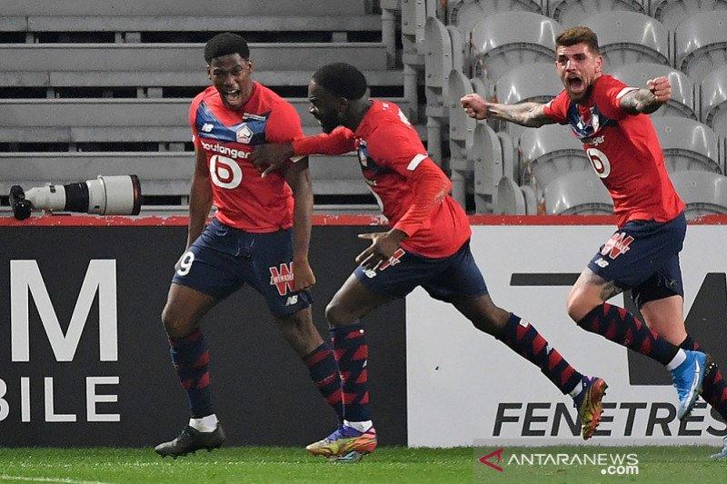 Lille menang dramatis atas Marseille berkat dua gol larut Jonathan David