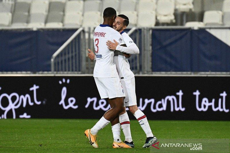 Pablo Sarabia cetak gol saat  PSG atasi Bordeaux