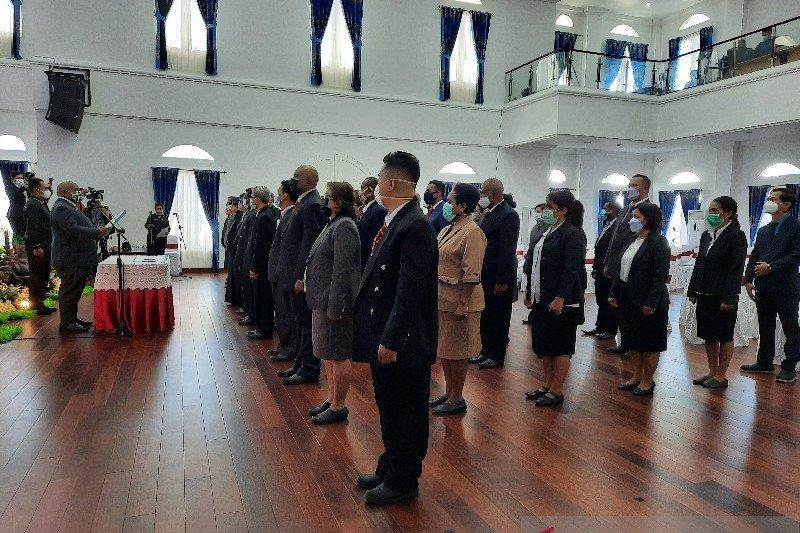 Pemprov Papua melantik 59 pejabat fungsional