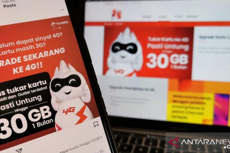 Telkomsel ajak  migrasi ke kartu USIM 4G dapat kuota hingga 30 GB