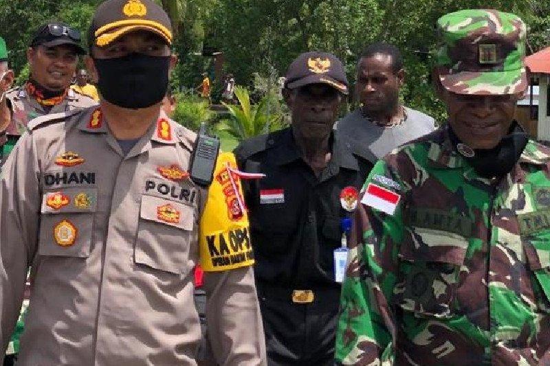 Brimob Merauke diperbantukan perkuat pengamanan di Kabupaten Asmat