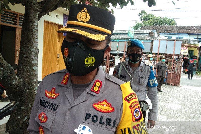Polres Bantul menerjunkan personel tiap desa bantu tanggulangi COVID-19