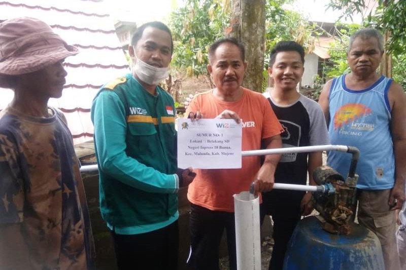 Laznas WIZ bantu warga  Sulbar atasi krisis air bersih pascagempa