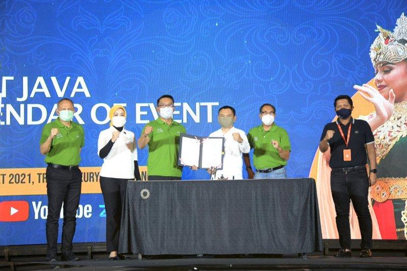 Kalender agenda wisata Jawa Barat 2021 digelar daring dan luring