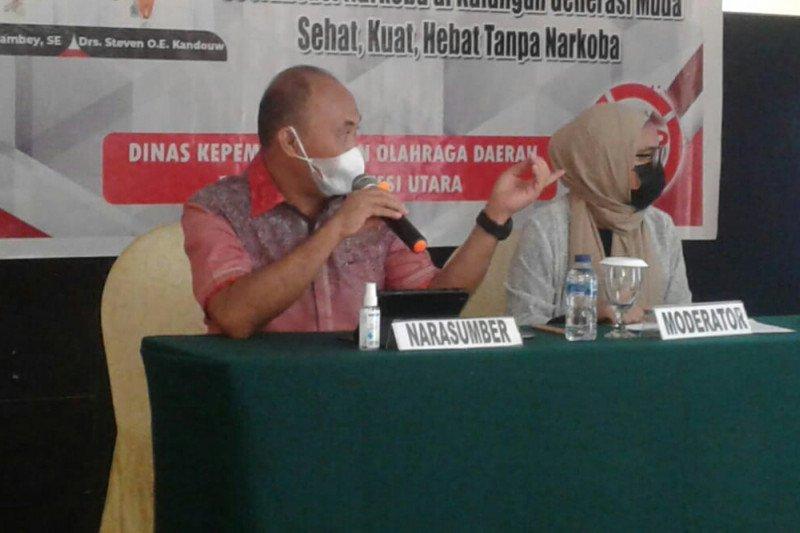BNNP Sulawesi Utara edukasi hingga ke desa-kelurahan cegah Narkoba