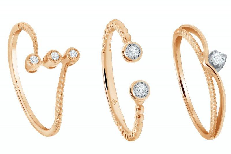 Koleksi perhiasan berlian Moela bagi pemula