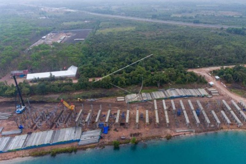 Progres Jalan Tol Indralaya-Prabumulih  capai 29,5 persen