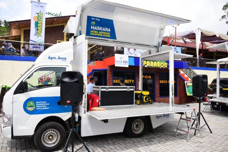 Pemprov Jabar libatkan Mobil Aspirasi Kampung Juara dalam vaksinasi lansia