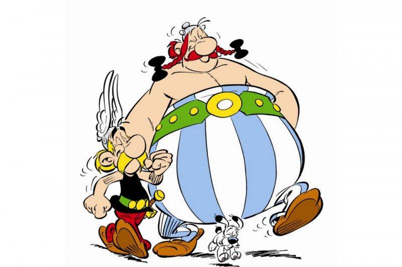 Netflix akan hadirkan serial animasi komik lawas 'Adventures of Asterix'