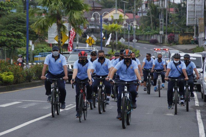 Danlanud Sam Ratulangi gelar farewell sepeda santai