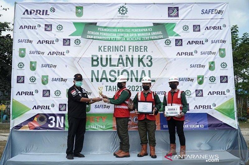 Disnaker berharap RAPP jadi contoh penetapan K3 di Riau