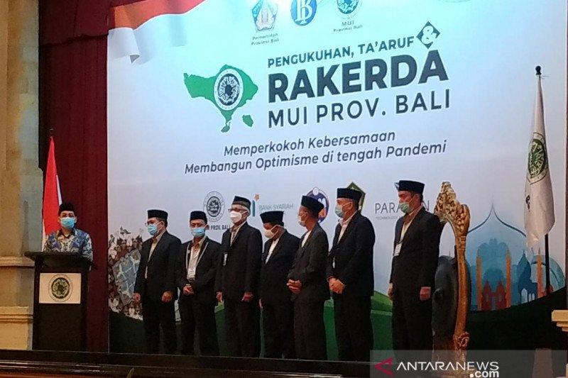 Rakernas MUI Bali bahas program untuk umat hadapi pandemi COVID-19