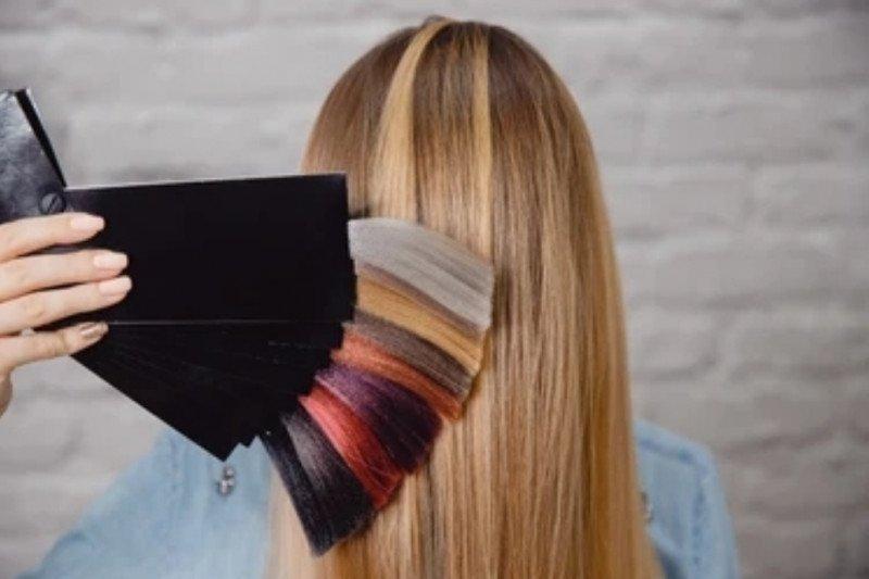 Tips memilih warna rambut  sesuai jenis kulit