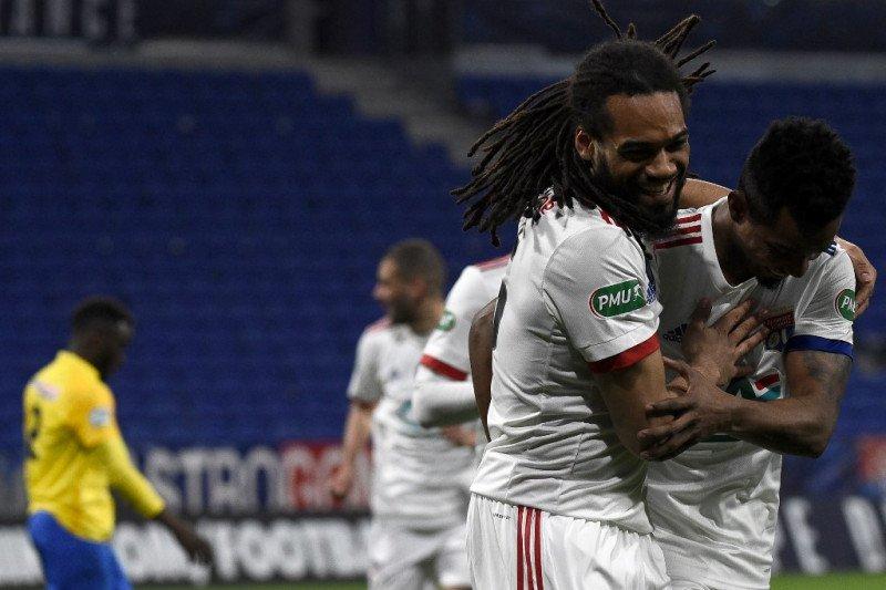 Lyon maju ke babak ketiga Piala Prancis, juga tujuh regu lainnya