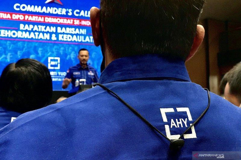 Ketua DPD Partai Demokrat 34 provinsi siap membantu AHY lawan KLB