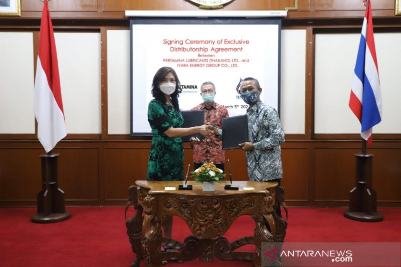 Pertamina Lubricants menggandeng mitra lokal dorong penjualan di Thailand