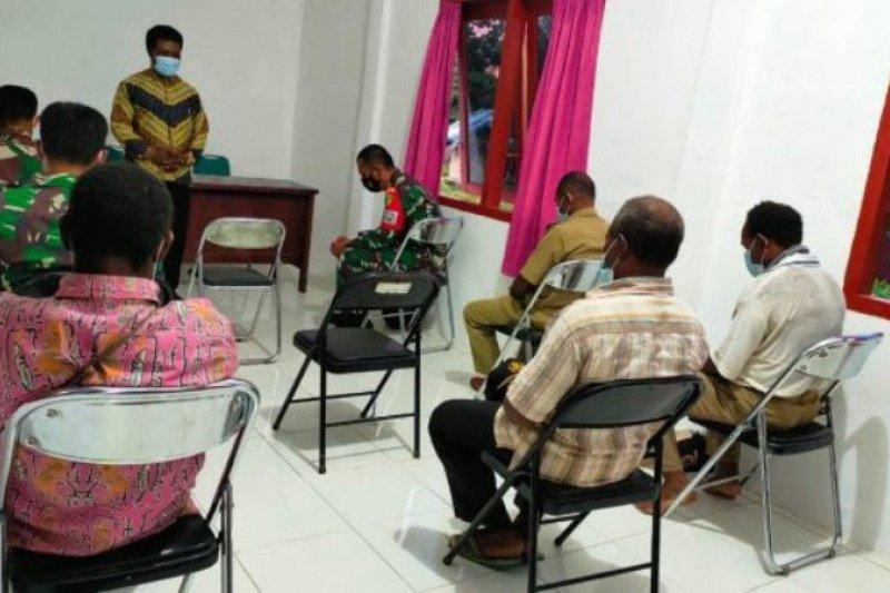 Warga Kawagit di tiga kampung syukuran pelaksanaan TMMD ke-110