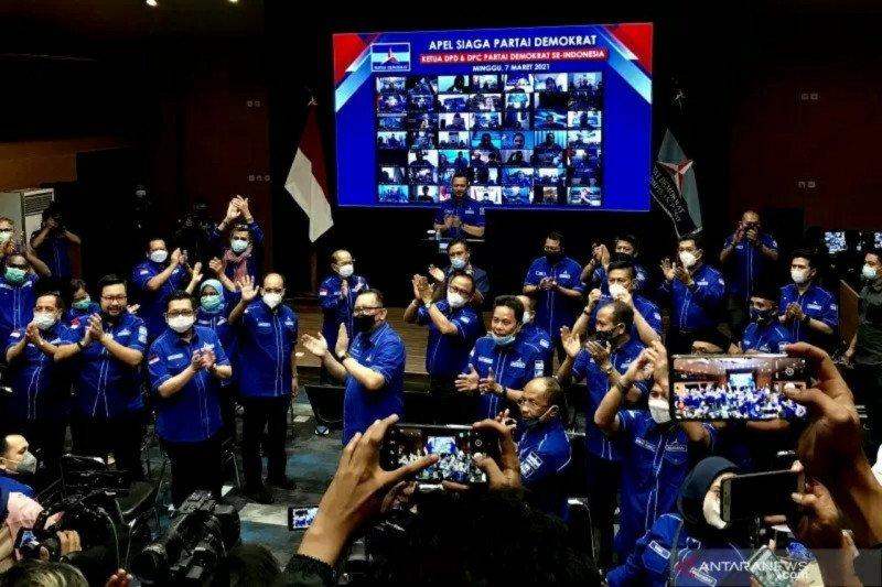Ketua DPD Partai Demokrat se-Indonesia sepakat KLB langgar hukum