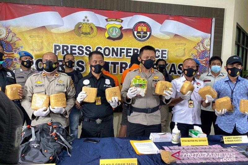 Wow, kurir narkoba lintas negara di Pekanbaru dapat upah Rp50 juta