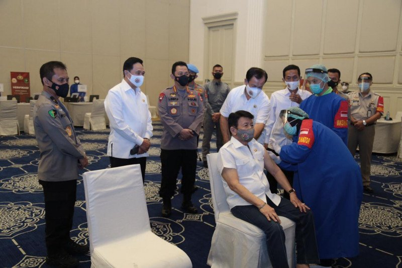 Kapolri sebut vaksinasi harapan mewujudkan pertumbuhan ekonomi Indonesia
