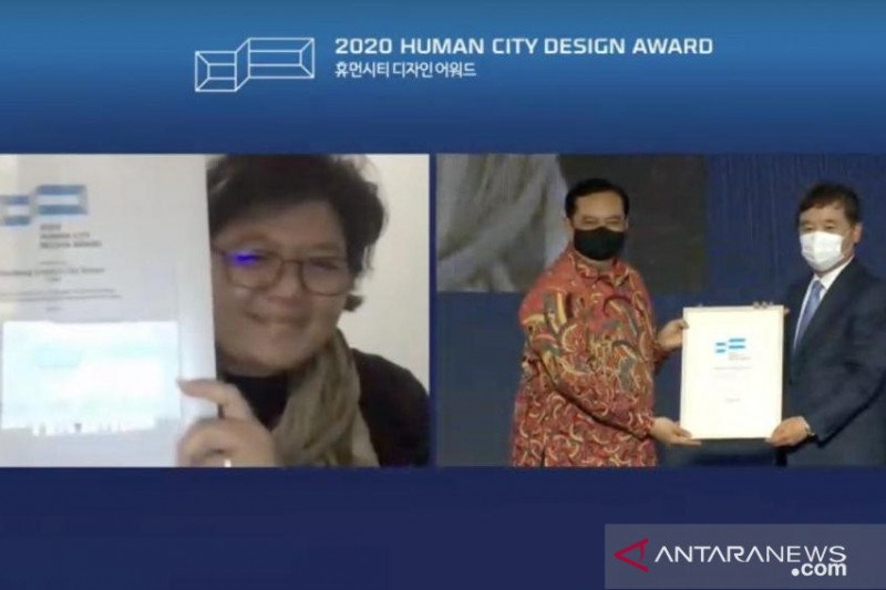 "Indonesia salah satu finalis ""Human City Design Awards"" 2020 di Korsel"