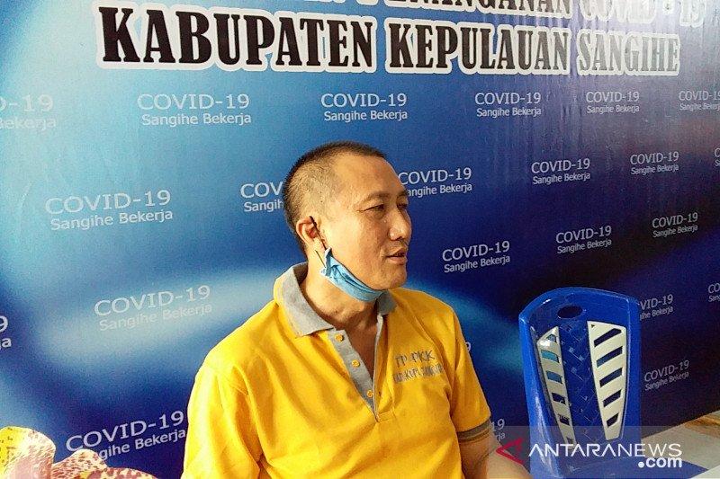 Satgas nyatakan sudah tidak ada penambahan kasus positif COVID-19 di Sangihe