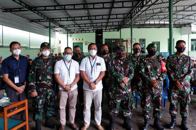 Bank Jateng- Kodim 0727 Karanganyar jalin kerja sama pengelolaan dana dukungan operasional Babinsa