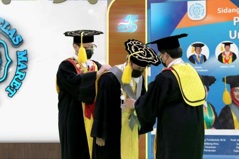 Rektor UNS dorong guru besar lebih aktif melakukan penelitian
