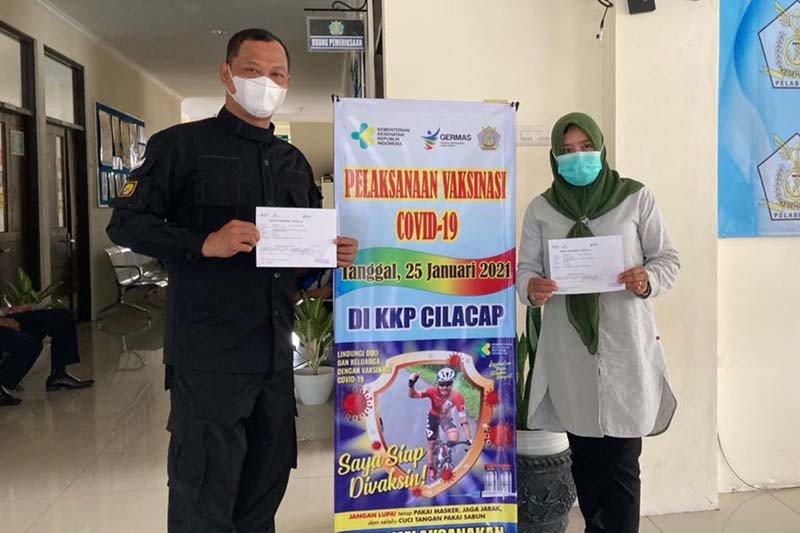 Baru sebagian petugas lapas di Nusakambangan divaksin