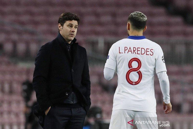 Liga Champions - Manajer PSG Pochettino enggan dibayangi hantu remontada Barcelona
